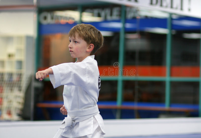 Download Little fighter stock photo. Image of caucasian, activity - 7961498