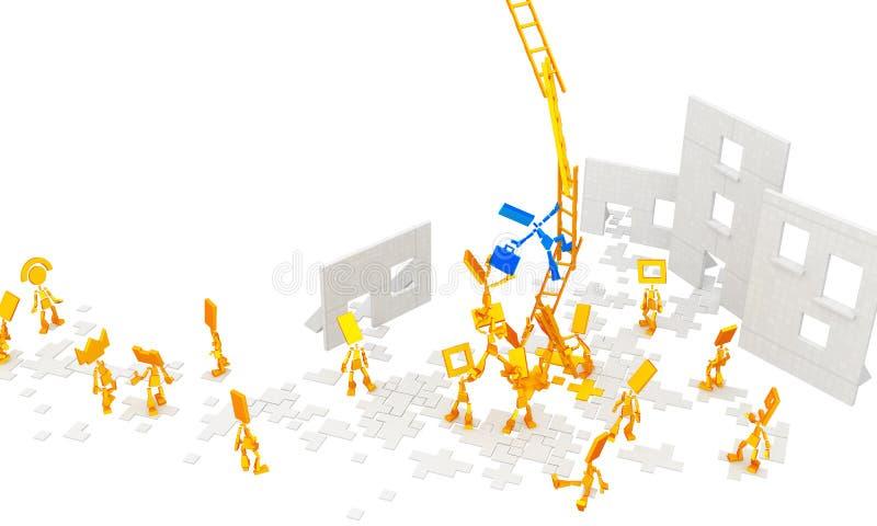 Little Figures, Ladders