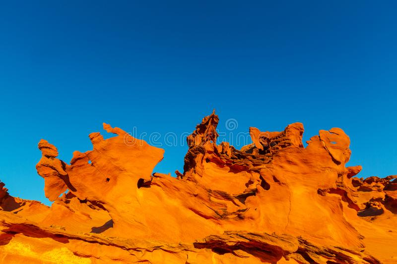 Little Finland. Near Mesquite, Nevada, USA royalty free stock images