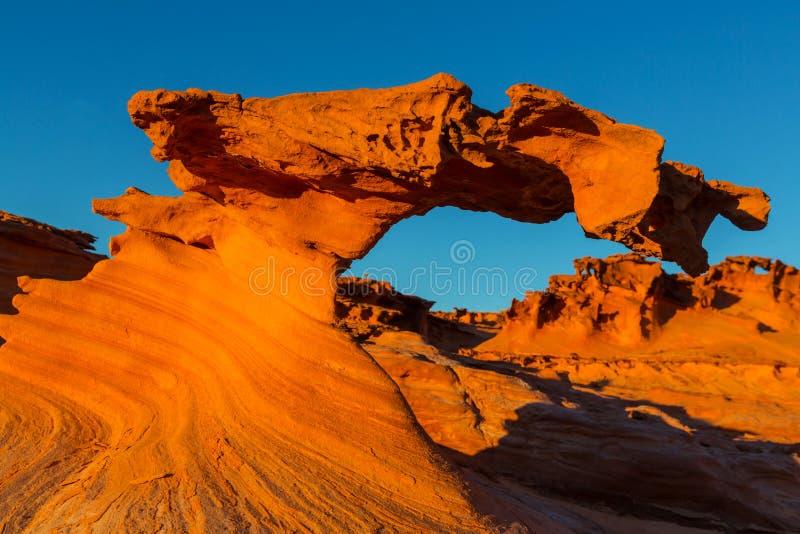 Little Finland. Near Mesquite, Nevada, USA stock photos