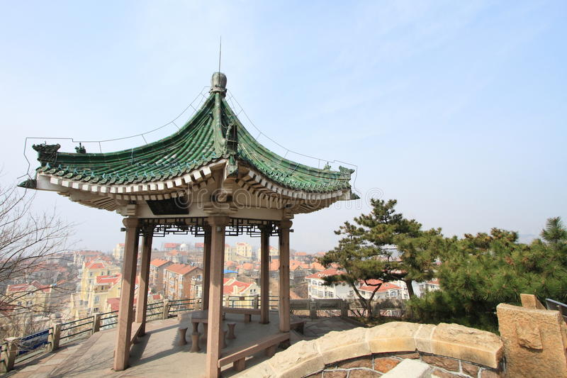 Download Little Fish Hill Garden Of Qingdao, China Stock Image - Image: 33793859