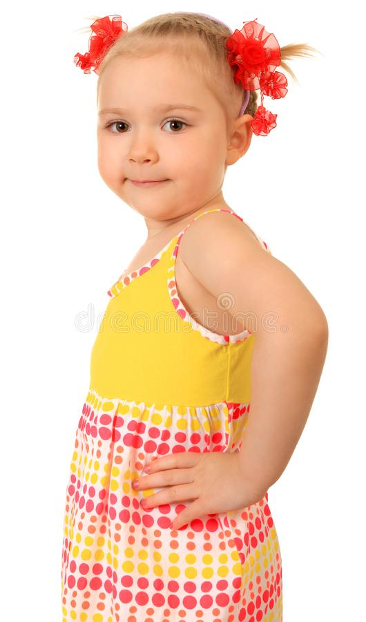 Download Little funny girl stock image. Image of adorable, female - 14940291