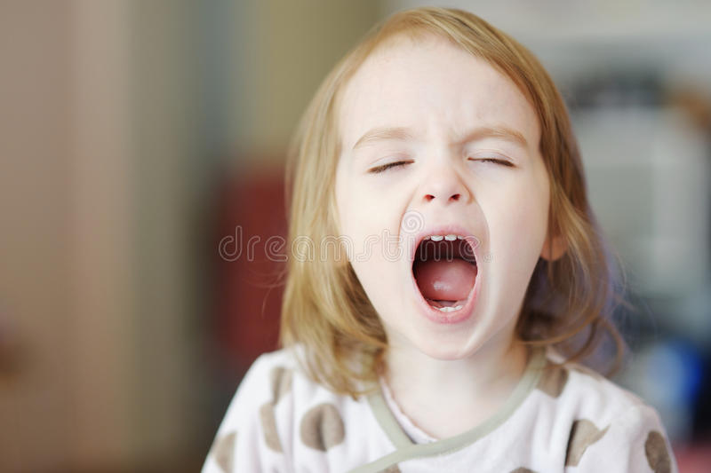Download Little Funny Girl Screaming Stock Image - Image: 19404749
