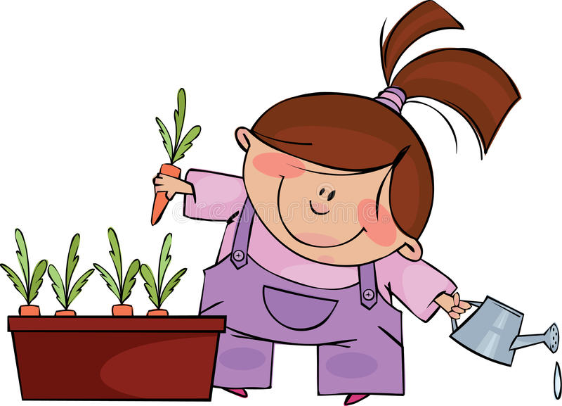 Download Little Gardener Royalty Free Stock Image - Image: 13859156