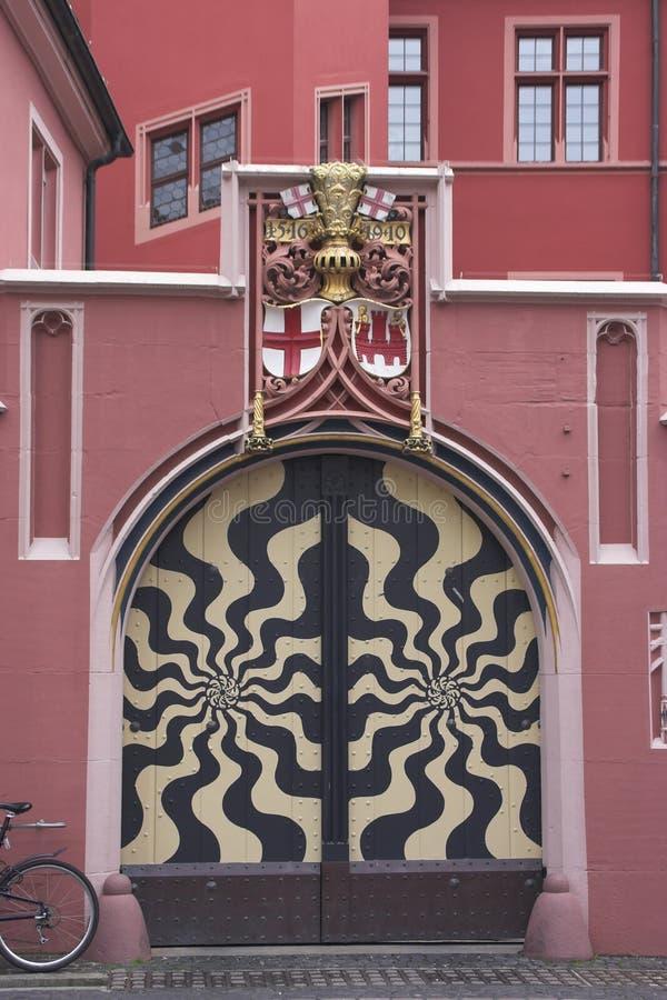 Little gate. In Freiburg am Briesgau, Gemany stock photography
