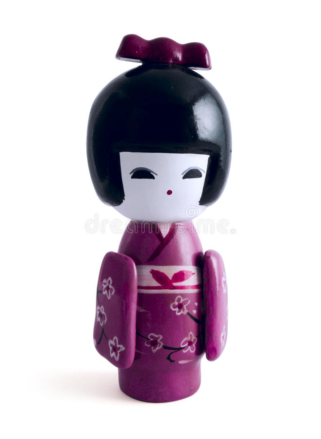 Little Geisha Stock Image