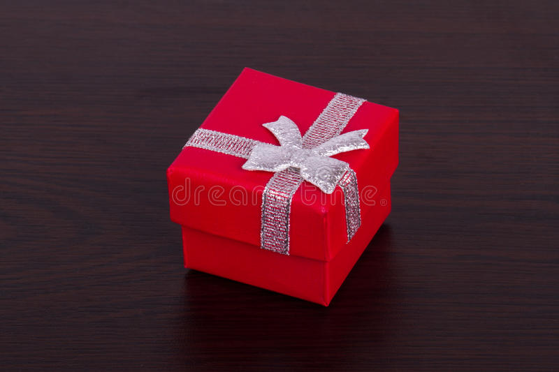 Little Gift Box On Table Stock Photo - Image: 43494954