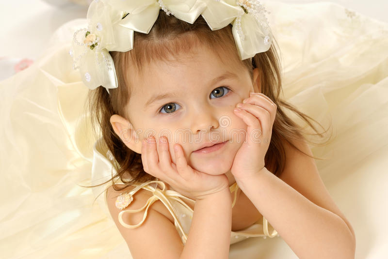 The little girl royalty free stock images