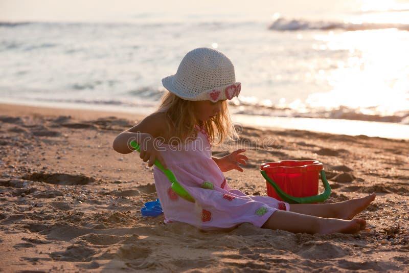 Download Little girl stock image. Image of nature, season, girl - 14860977