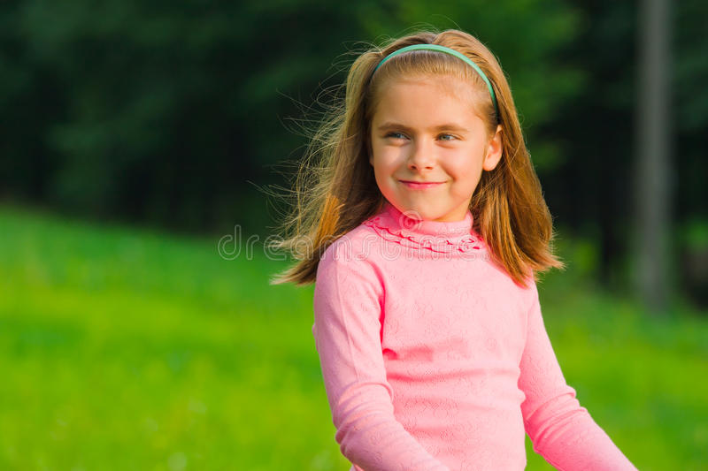 Download Little girl stock image. Image of outside, emotions, lifestyle - 15944483