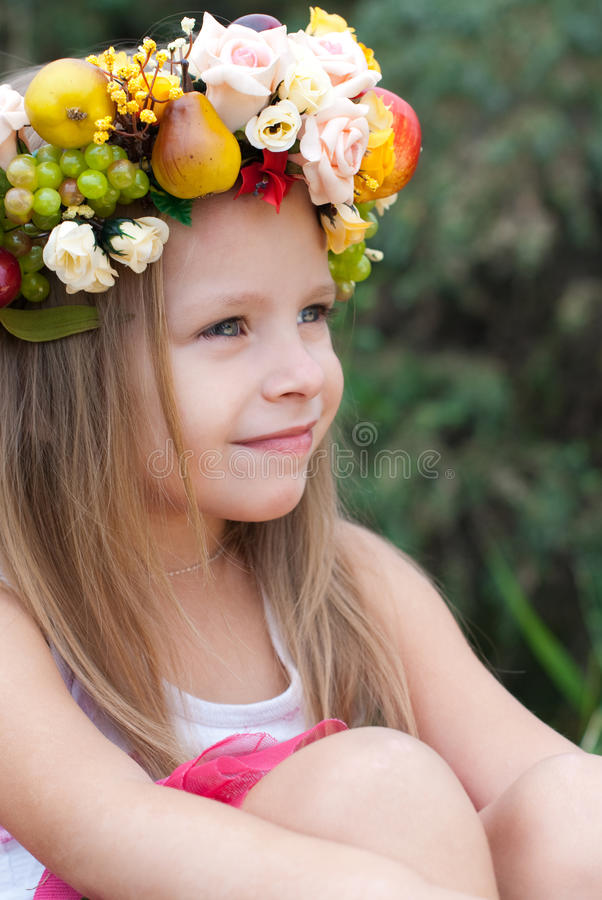 Little girl royalty free stock image