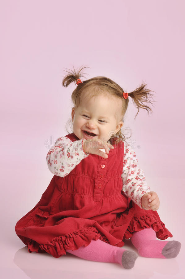 Download Little girl stock image. Image of beautiful, sentiment - 16930595