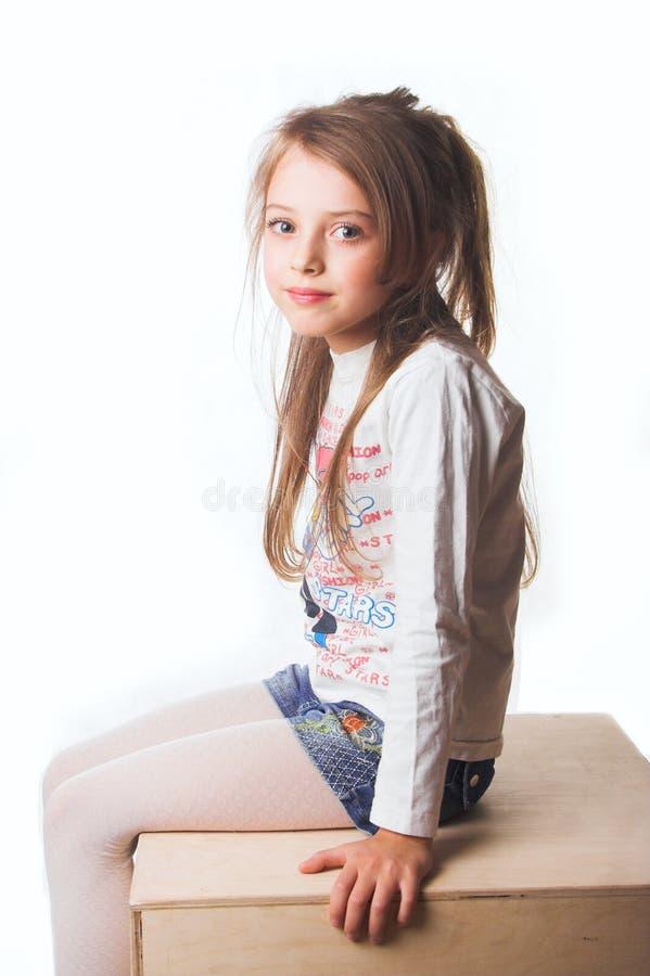 A little girl stock image