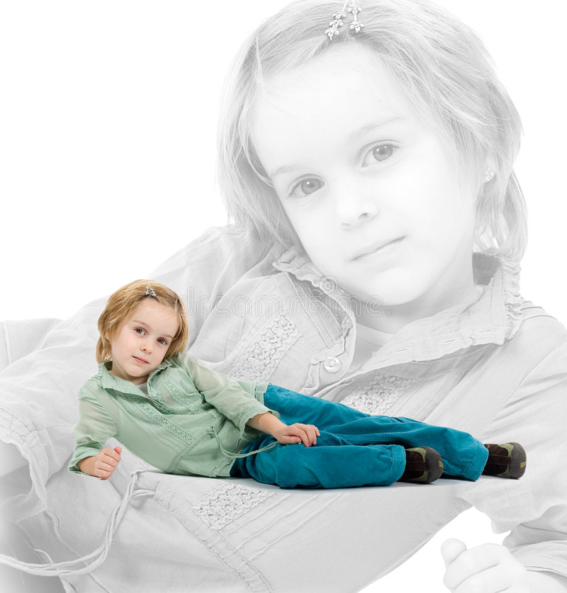 Download Little girl stock photo. Image of females, innocence, beauty - 1875898