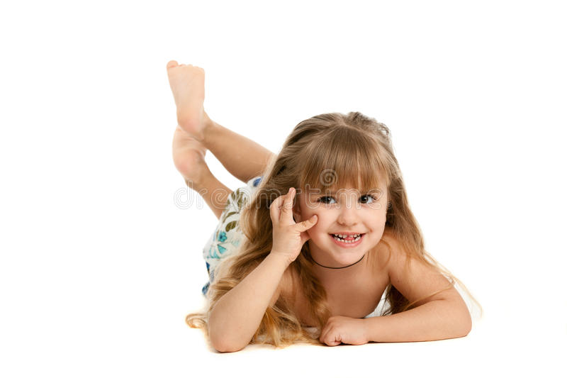 Download Little girl stock photo. Image of happy, image, girl - 18840858