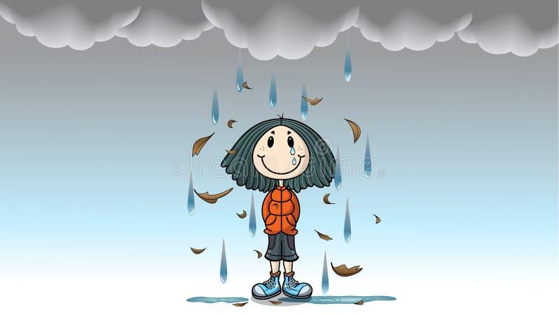 Little_girl illustration stock