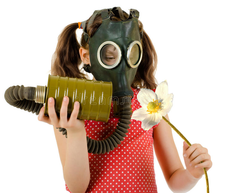 Download Little girl stock image. Image of aroma, breathing, concept - 23759379
