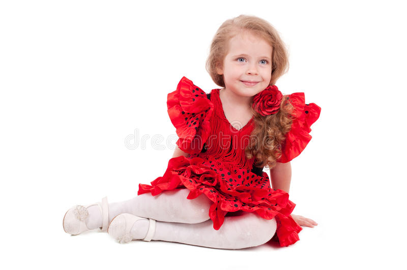 Download Little girl stock image. Image of playful, childhood - 25860907