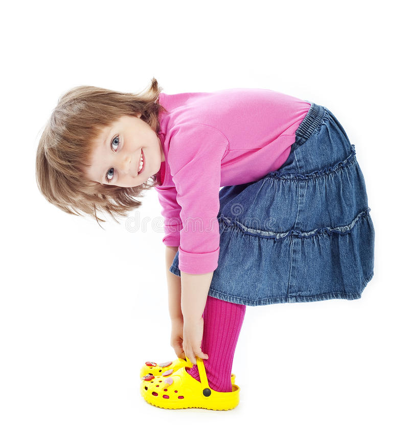Little Girl 3 Years Old Royalty Free Stock Image