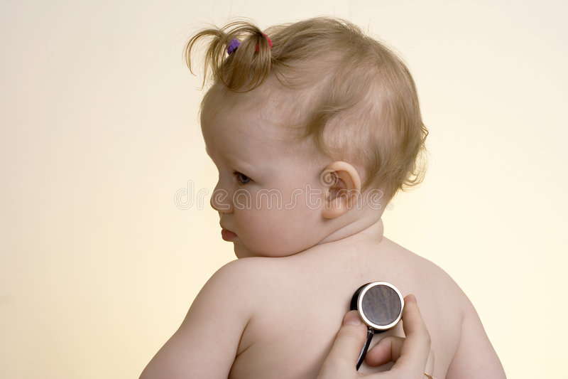 Download Little girl stock image. Image of eyes, nurse, females - 4477739