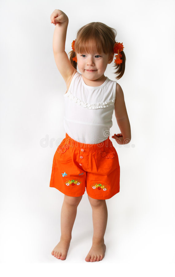 Free Little Girl Royalty Free Stock Photography - 5853427