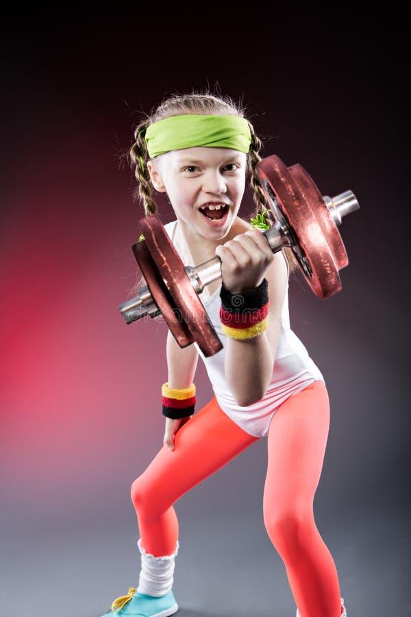 Download Little Fitness Girl stock image. Image of body, little - 30158993
