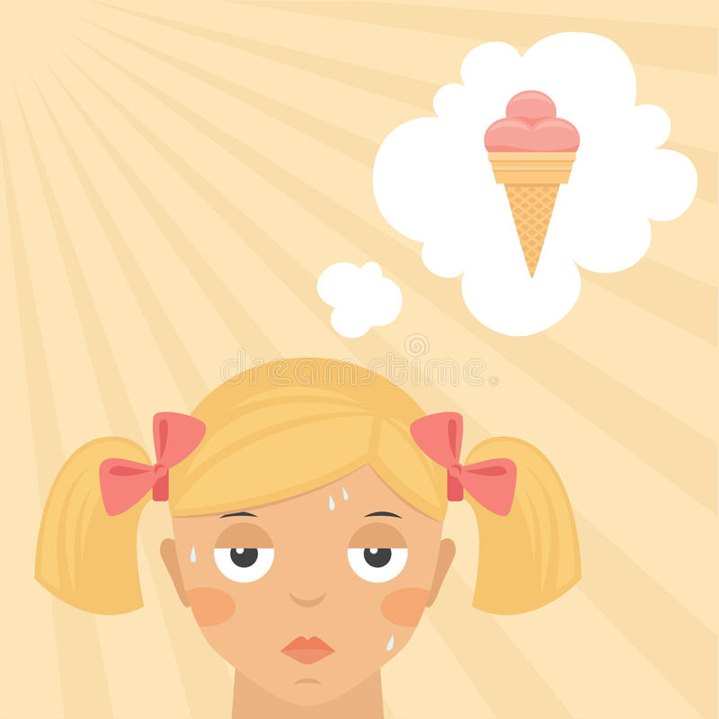 Download Little Girl Burnt By The Sun Stock Images - Image: 30769864