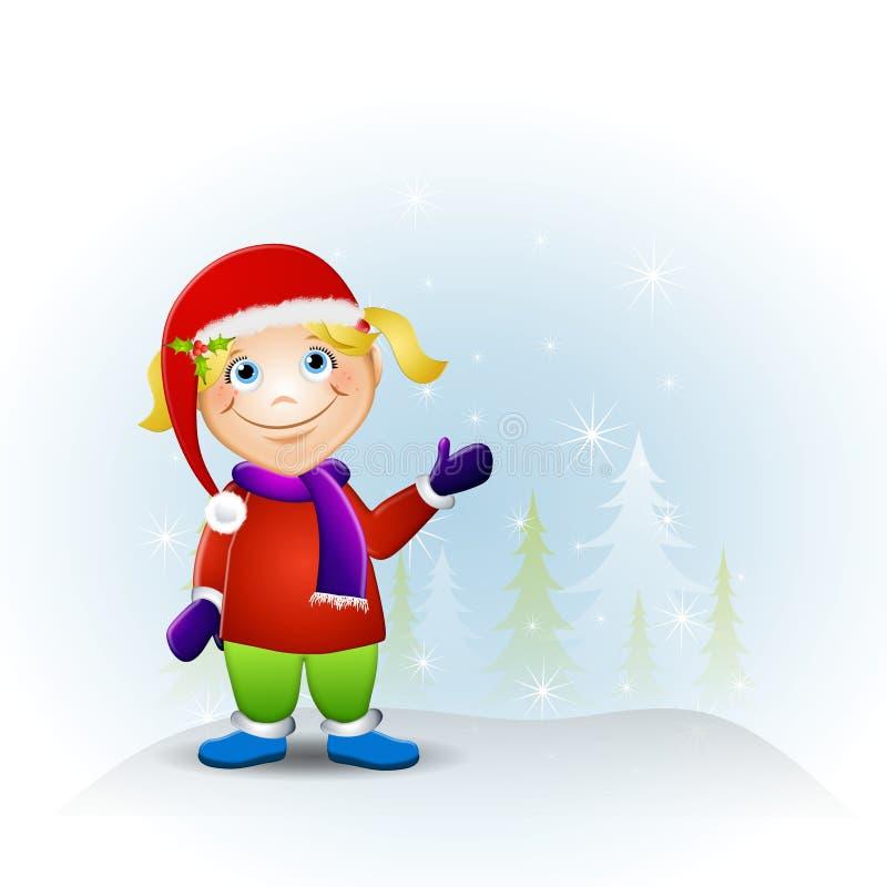 Little Girl Christmas Hat