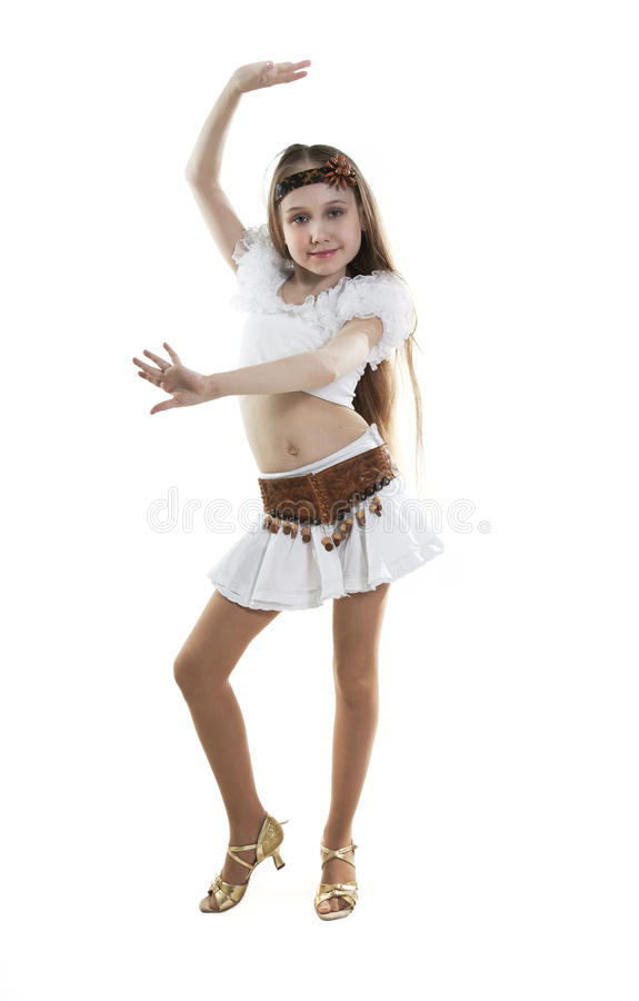 Free Little Girl Dancer. Stock Photos - 18824193