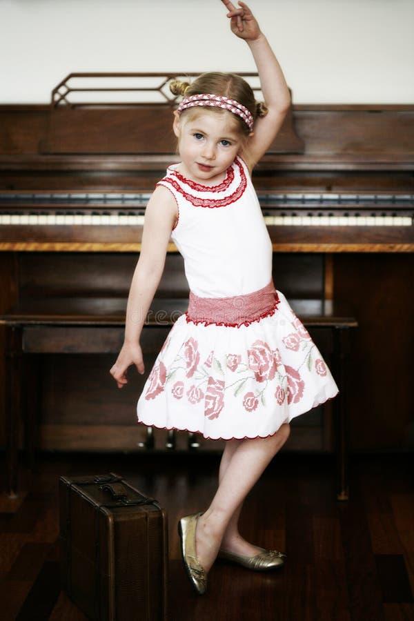 Free Little Girl Dancing Stock Photo - 13893630