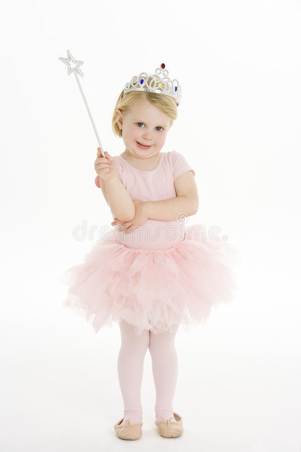 Download Little Girl Dressed As Fairy Stock Image - Image of costume, cute: 12406783