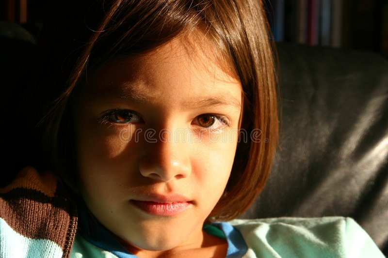 Download Little Girl - A Face Of Promise Stock Image - Image: 207721