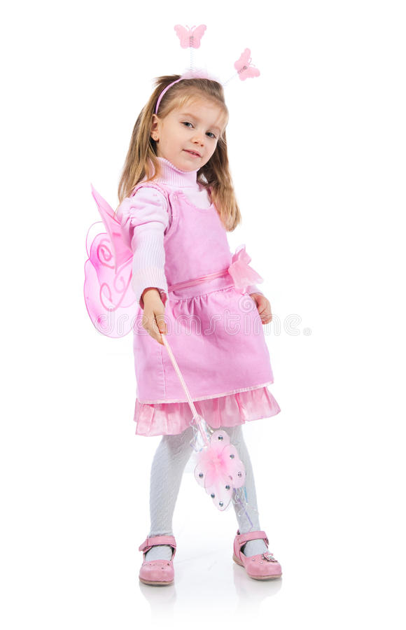 Download Little Girl In Fairy Costume Stock Photo - Image: 18437678