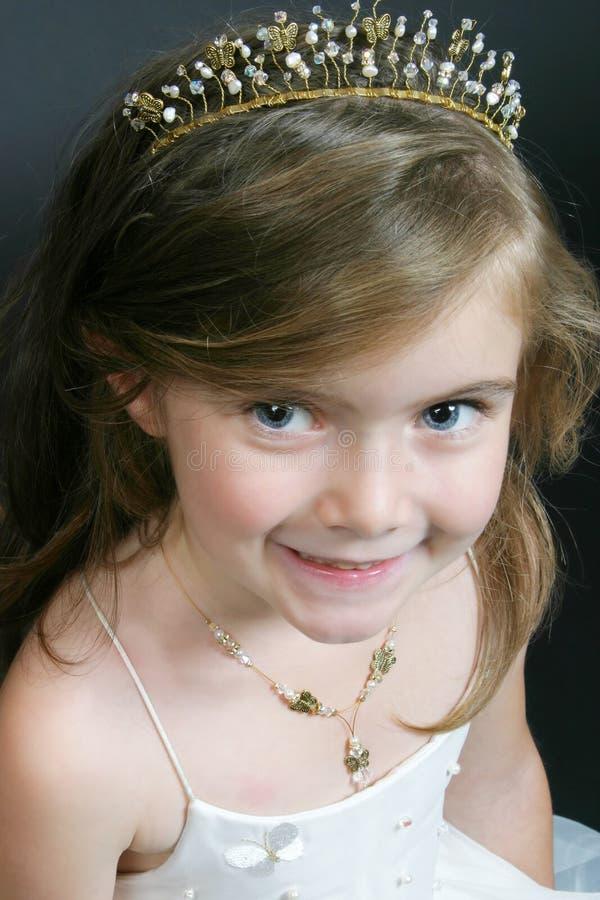 Download Little Girl In Flower-girl Wear Stock Image - Image: 820723