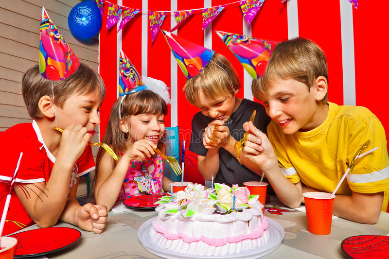 Download Birthday stock photo. Image of decoration, lovely, laughing - 30235944