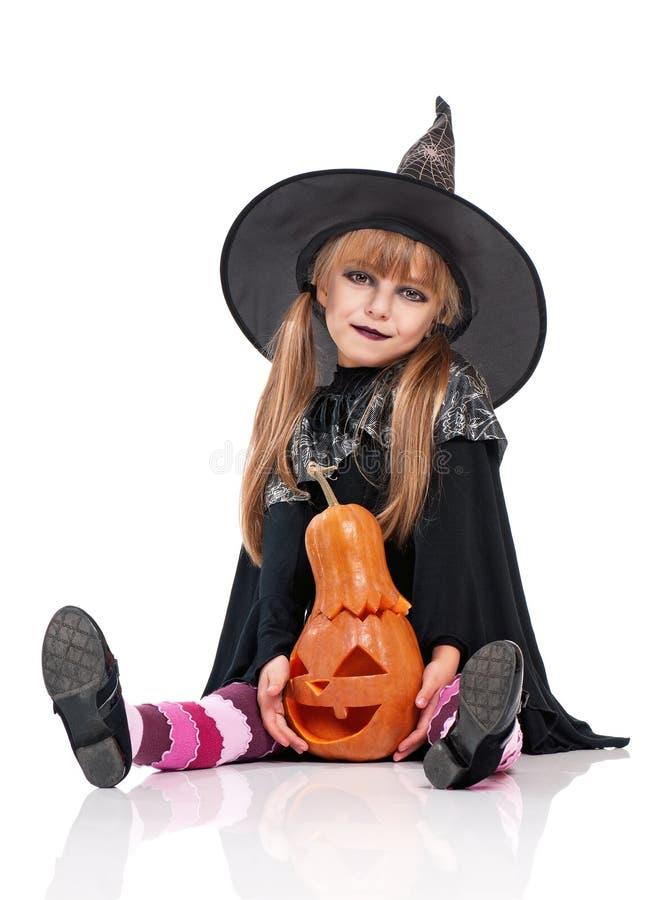 Download Little Girl In Halloween Costume Stock Image - Image: 28930791