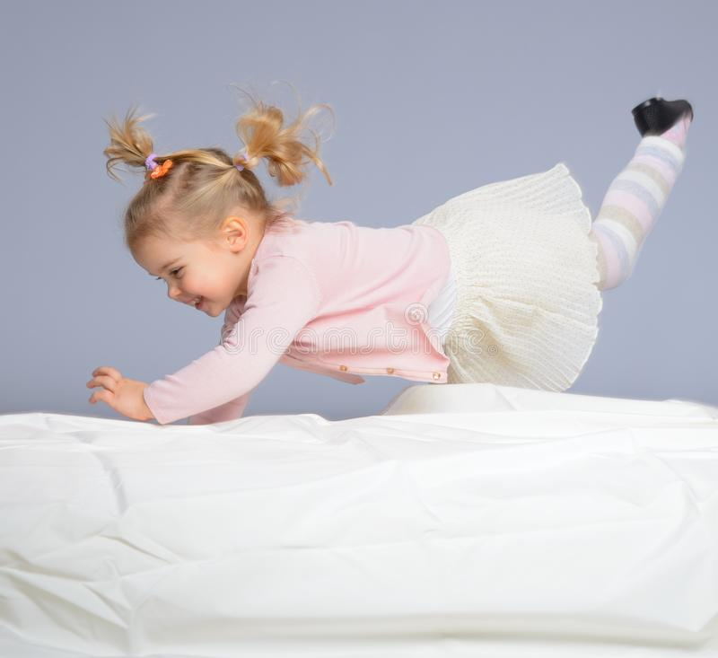 Download Little girl stock photo. Image of person, adorable, expression - 34644708
