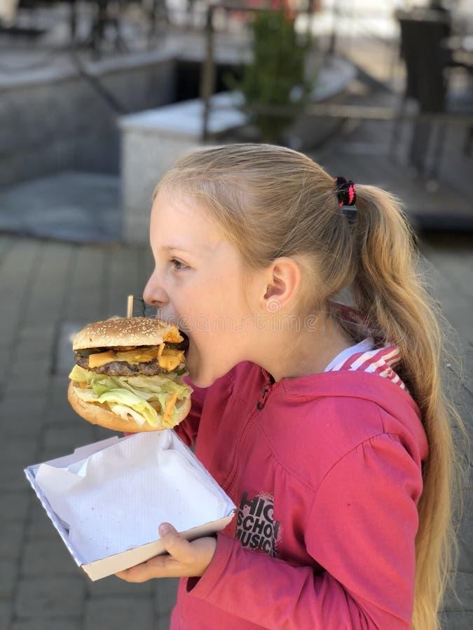 Cheeseburger royalty free stock photography