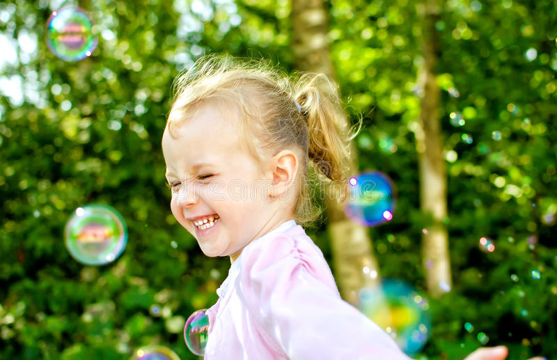 Download Little Girl Having Fun Royalty Free Stock Photos - Image: 26280248