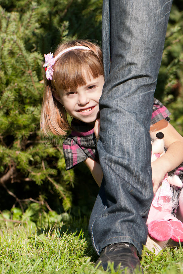 Free Little Girl In Park Royalty Free Stock Photography - 16773777