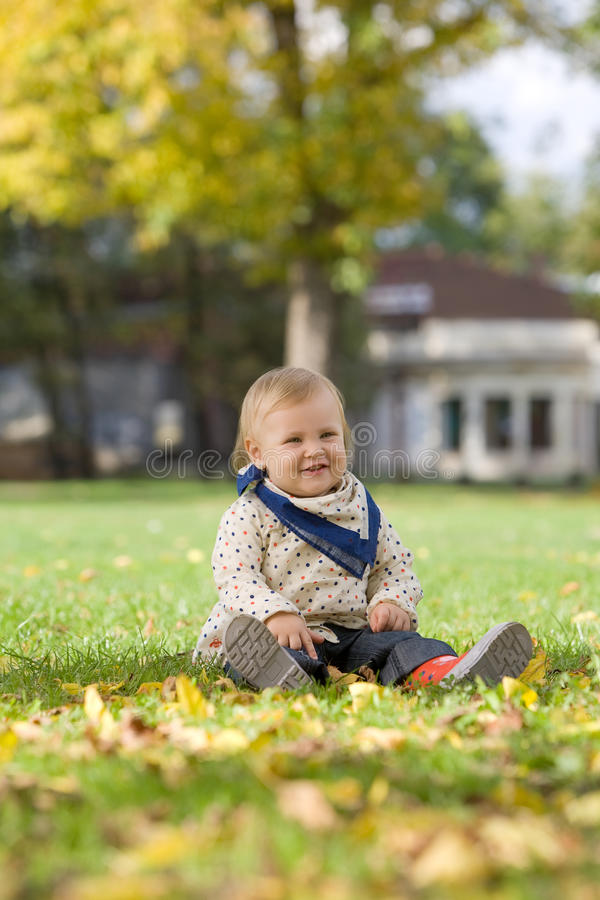 Free Little Girl In The Park Royalty Free Stock Photo - 17161415