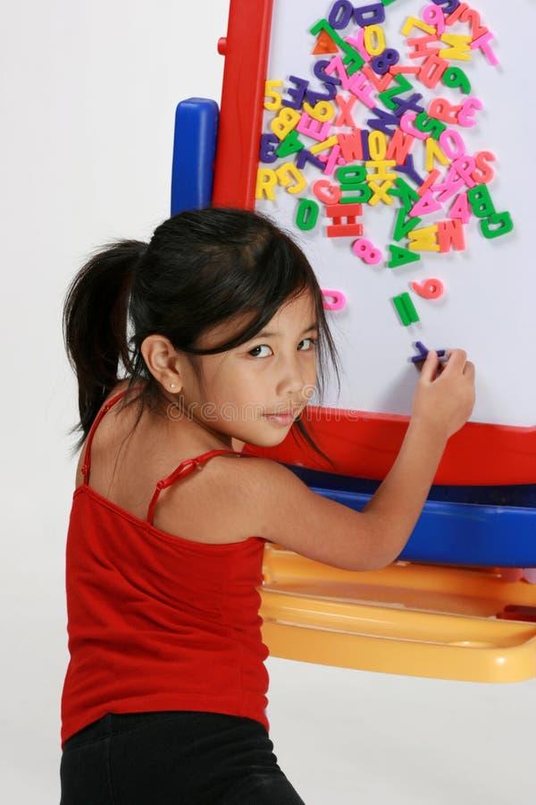 Free Little Girl Palying Stock Image - 7257061