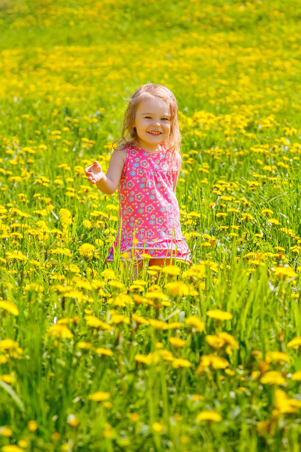 Download Little Girl In The Park Stock Photos - Image: 38418263