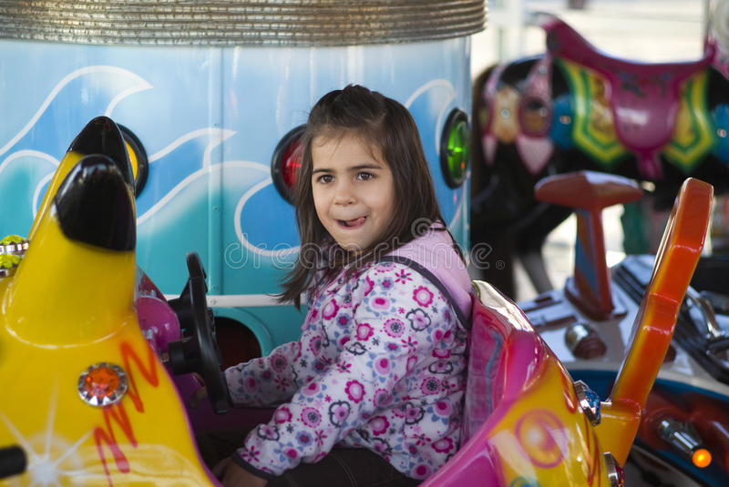 Download Little Girl At Playground Royalty Free Stock Photo - Image: 17464535