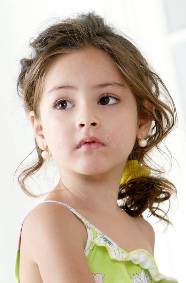 Free Little Girl. Portrait Royalty Free Stock Photos - 11165938