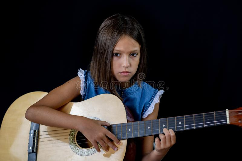 Little girl posing royalty free stock image
