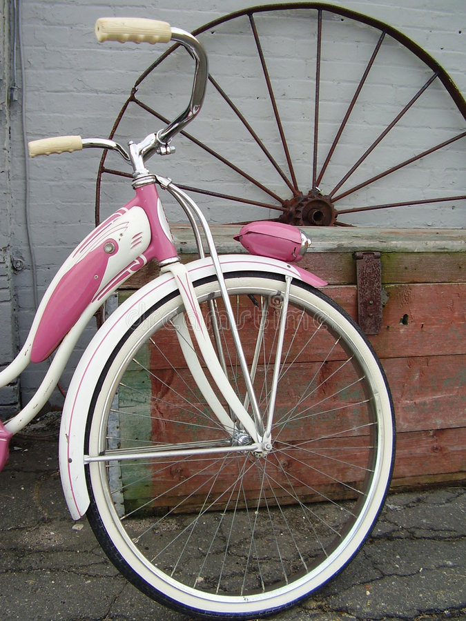 Download Little Girl's Dream stock photo. Image of bicycle, summer - 460994