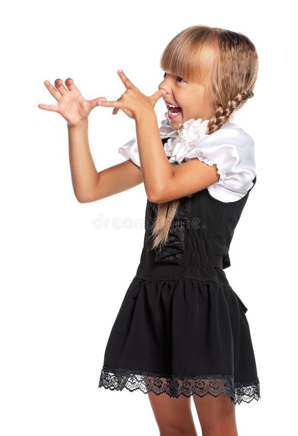 Download Little Girl In School Uniform Stock Image - Image: 28691725