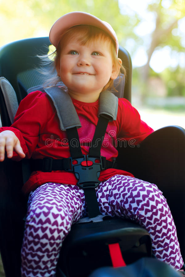 Download Little Girl In The Seat Bicycle Stock Photo - Image: 25018728