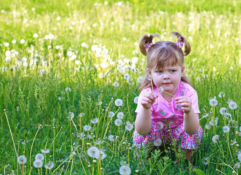 Download Little Girl Sitting Stock Images - Image: 20110854
